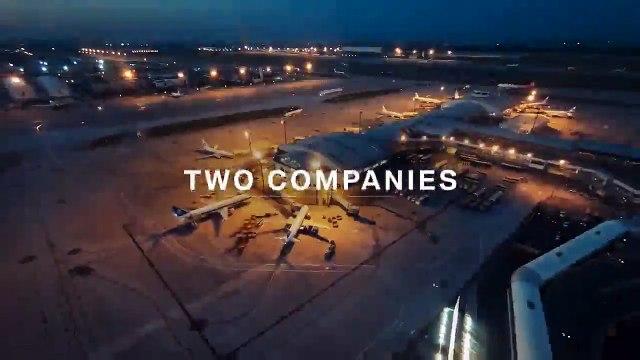 El avión de Lutfhansa y BMW