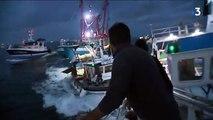 Une vraie bataille navale entre pêcheurs anglais et français en Normandie