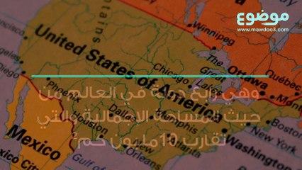 ما هو عدد ولايات أمريكا موضوع