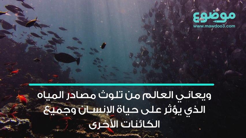 مشكلة تلوث الماء