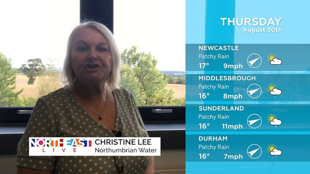 WEATHER: August 30th 2018