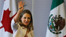 Canada's Freeland Optimistic About Revamping NAFTA