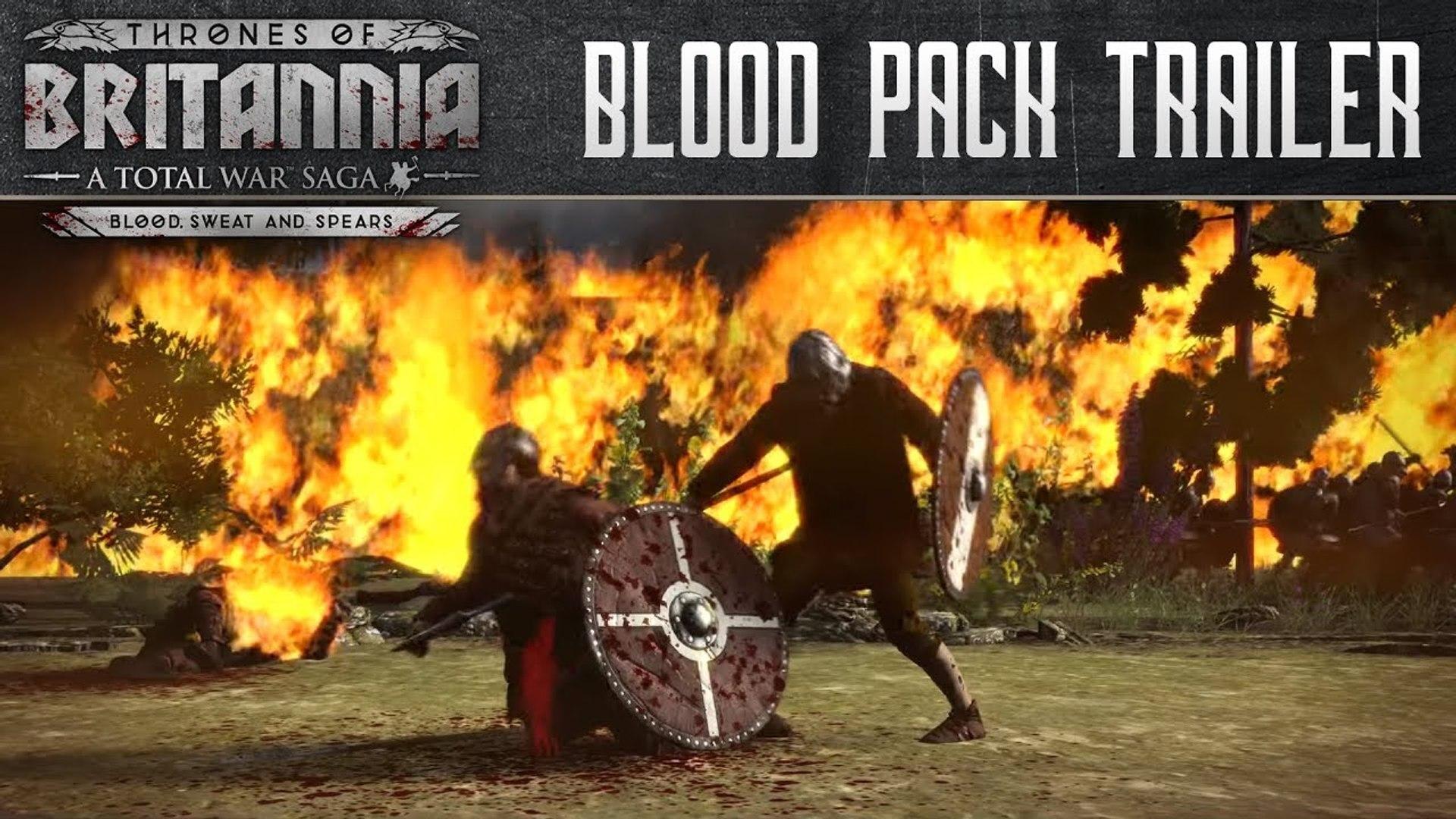 A Total War Saga : Thrones of Britannia - Blood, Sweat and Spears Trailer