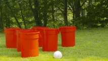 Upgrade Your Next Tailgate With This Giant DIY Beer Pong Set