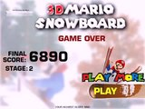 3D Mario Snowboard Super Mario 3D world carts 3D game jeux video en ligne Cartoon Full Episodes kp , Tv hd 2019 cinema comedy action