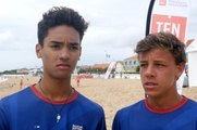 Beach Tennis : Perez et Bergonzoli conservent leur titre