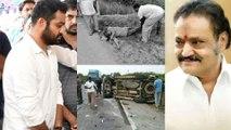 Harikrishna Restricts Driver 15 Days Back Sent By TDP Senior Member Amarnath Babu