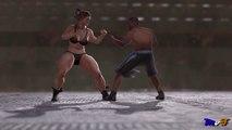 Female Bodybuilder vs Boxer | MvFilms