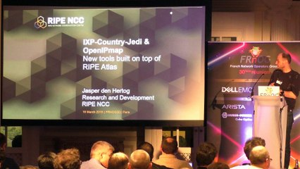 FRNOG 30 - Jasper den Hertog (RIPE NCC) : RIPE Measurement Tools