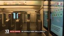 Métro parisien : une nouvelle panne sème la pagaille