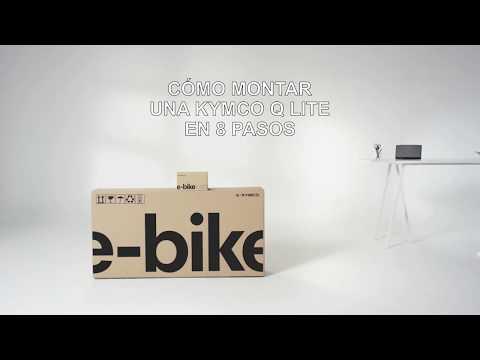 Montaje de una E-Bike Kymco en 8 pasos