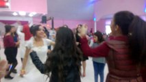 Düğünde müthiş hoptek