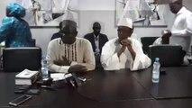 Mohamed Ali Bathily - et Choguel Maïga en Direct du Bureau du Chef de File de l'Opposition