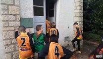 Cri de guerre victoire U13 victoire à Gien 2018