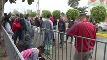 La odisea de los venezolanos sigue después de llegar a Perú