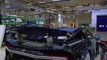 LEGO Technic reproduit une Bugatti Chiron à l'échelle 1 et elle roule sur circuit !