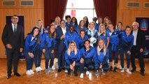 Féminines du HAC : Luc Lemonnier,  Maire du Havre leur apporte son soutien