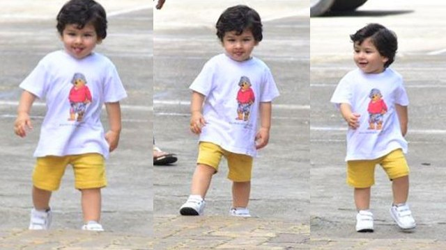 Taimur Ali Khan goes for a walk WITHOUT his Nanny for the FIRST time  | FilmiBeat