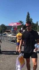 Remise de coupe «challenge Cédric BRUNIER «