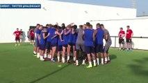 Guedes s'entraîne déjà avec ses coéquipiers à Valence !