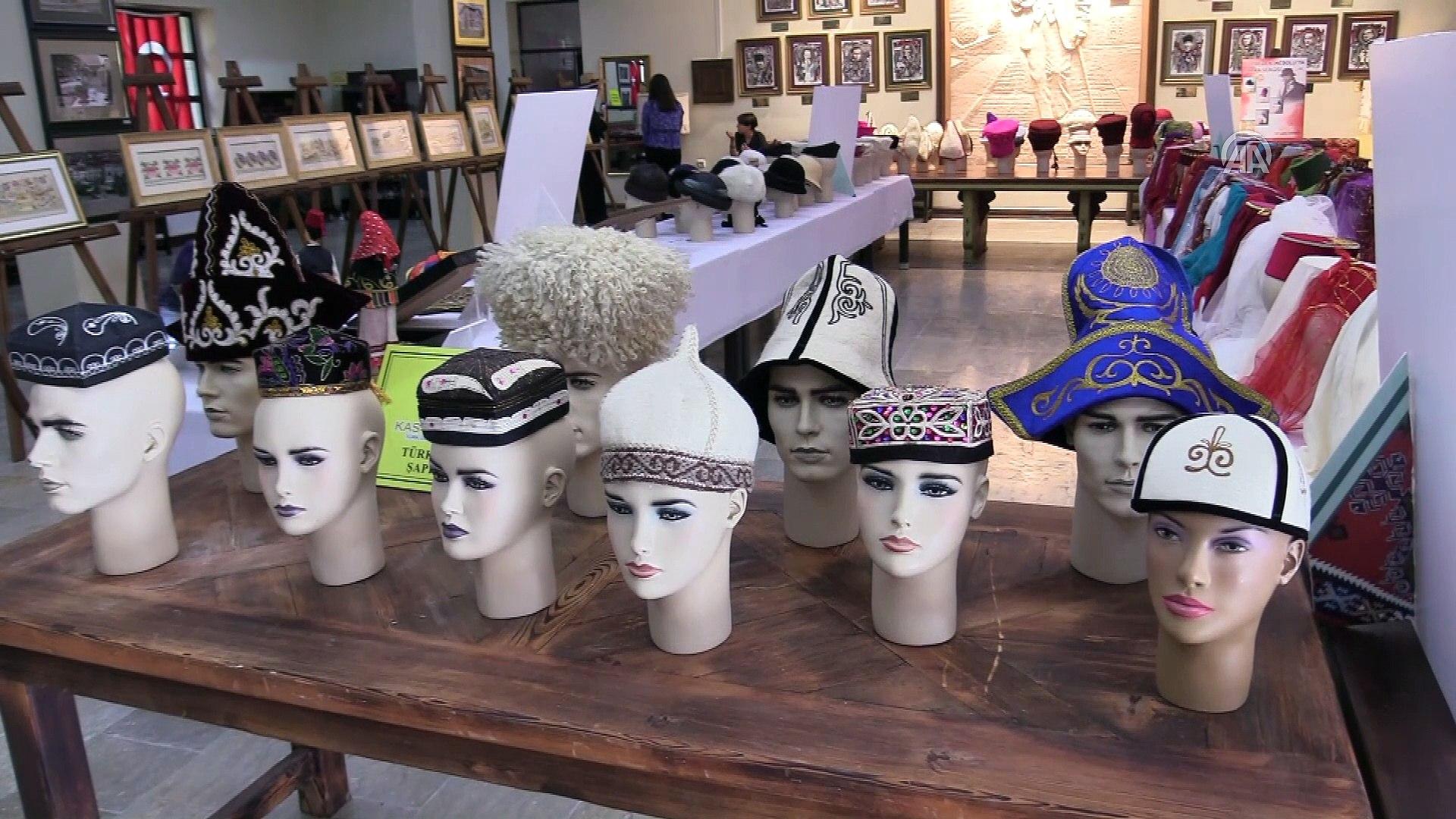 60 yıllık şapkalar müzeye bağışlandı - KASTAMONU