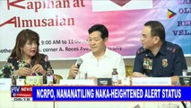 NCRPO, nananatiling naka-heightened alert status
