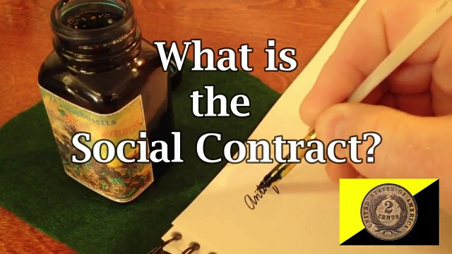 Taxation is Theft and The Social Contract is BS. Get Over It!