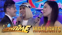 It's Showtime Miss Q & A: Vice Ganda leaves Ate Girl Jackque for Greg