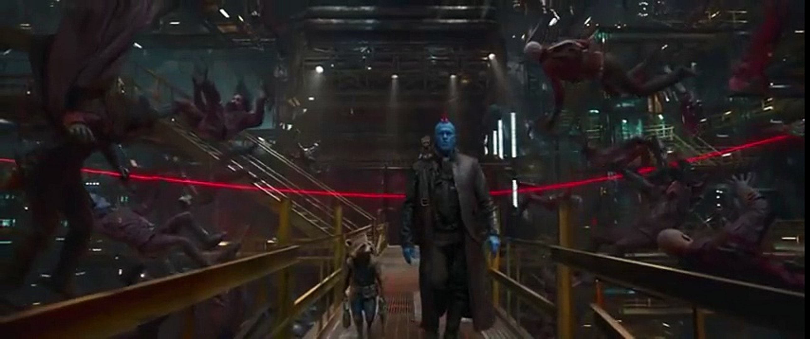Guardians of the Galaxy Vol. 2 - Baby Groot Attacks