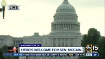 Senator McCain to lie in state at U.S. Capitol