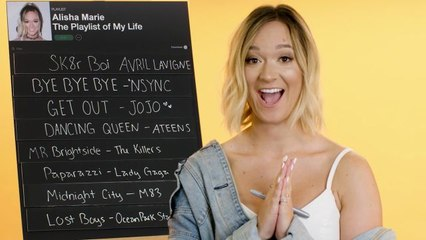 alisha marie creates the playlist to her life