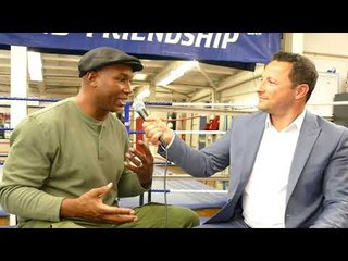 Lennox Lewis Exclusive - Cojones Icon - Boxing