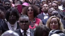 Clark Sister ,,Aretha Franklin Home Going Service