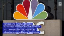 NBC Reportedly Threatened Ronan Farrow Over Harvey Weinstein Report
