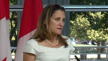 Canada's Freeland Says 'Win-Win-Win' Nafta Agreement Within Reach