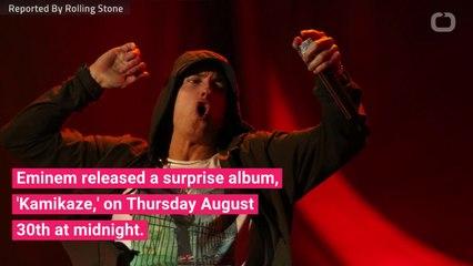 Eminem Producer Explains New Album 'Kamikaze' - video