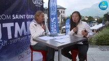 UTMB® 2018 Interview (FR/EN) - Oriane Tian
