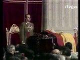 Imágenes de la muerte de Franco. Funeral en el Valle de los Caídos