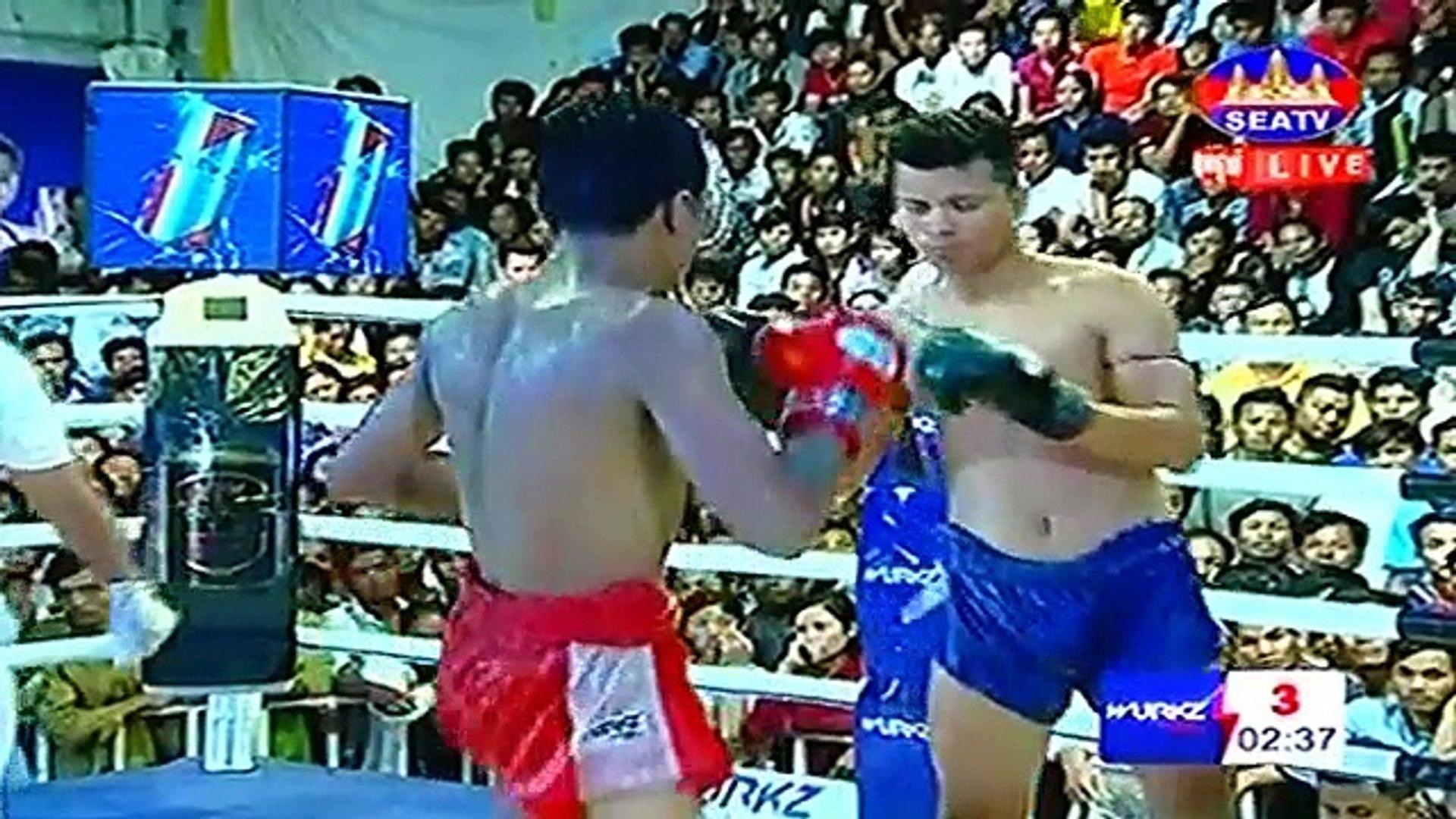 Long Samnang Cambodia Vs Aramboy, Thailand, 1 September 2018, International Boxing, Khmer Boxing