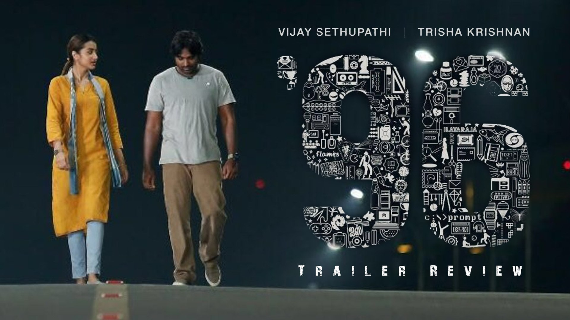 #96 Movie Trailer Review | Vijay Sethupathi | Trisha Krishnan