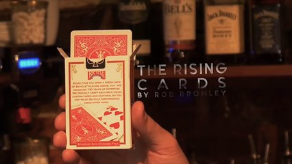 The Rising Cards by Rob Bromley and Alakazam - Magic