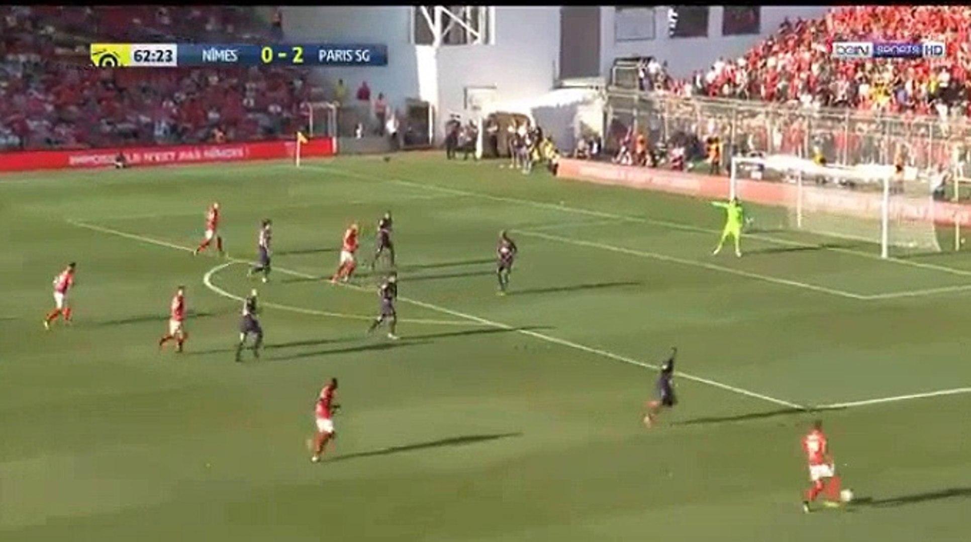Antonin Bobichon Goal Hd Nimes 1 2 Paris Sg 01 09 2018 Video Dailymotion