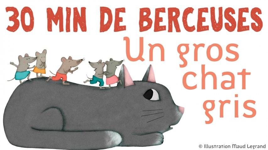 30 min de berceuses - Un gros chat gris - Jacques Haurogné et Steve Waring