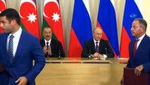 """- Azerbaycan Cumhurbaşkanı Aliyev, Rusya Devlet Başkanı Putin ile Soçi'de görüştü- Azerbaycan Cumhurbaşkanı İlham Aliyev: """"Rusya bizim komşumuz, tarihi ortağımız ve arkadaşımız"""""""