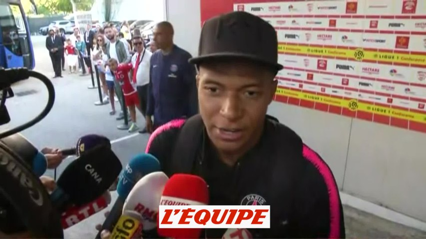 Mbappé sur son expulsion «Si c'était à refaire, je le referais» - Foot - L1 - PSG