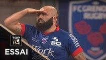 TOP 14 - Essai Mike TADJER (FCG) - Grenoble - Toulouse - J2 - Saison 2018/2019