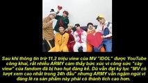 MV 'IDOL' bị lọc cả triệu view, kênh YouTube đình đám của ARMY bị xóa sổ một cách bí ẩn