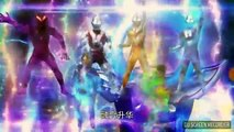 Ultraman Geed and Orb Fight and Transformation