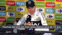 """Tour de France 2018 - Chris Froome : """"Geraint Thomas est mon ami depuis plus de 10 ans"""""""