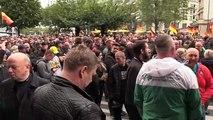 """مباشر: """"مسيرة صامتة"""" ضد المهاجرين في شيمنيتز.via Ruptly"""